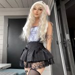 Gothic Top with Spider web Lace 4