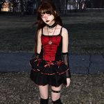 Gothic Top with Spider web Lace 3