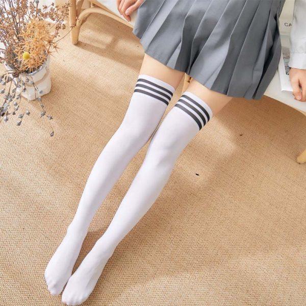 School Stockings Over Knee 3