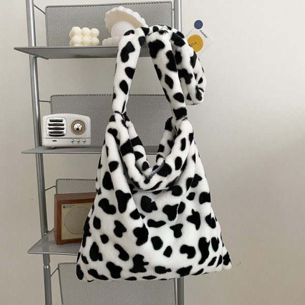 Cow Pattern Tote Handbag 2