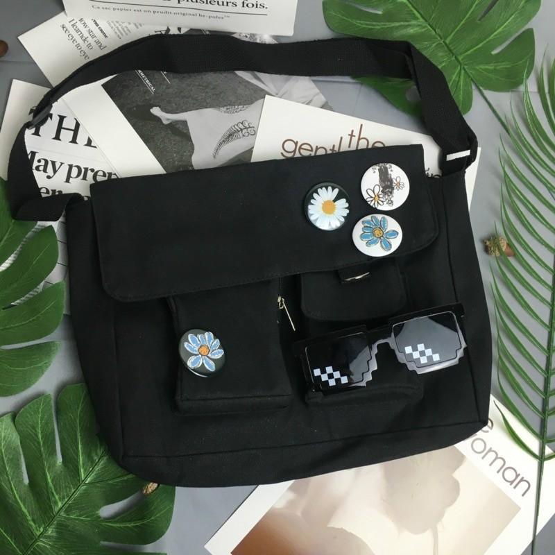 Canvas Cross body Shoulder Bag 15