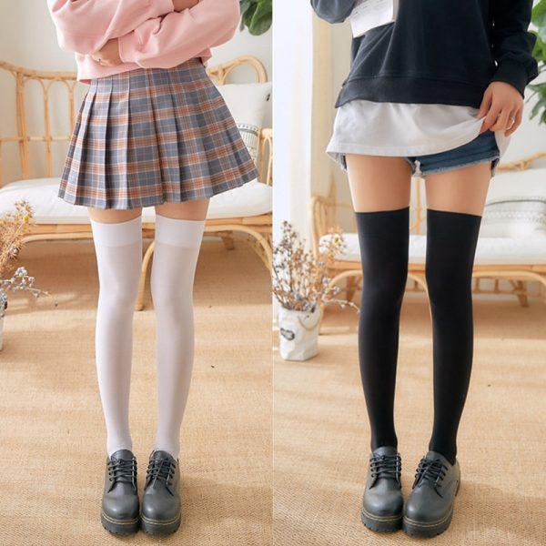 School Stockings Over Knee 1