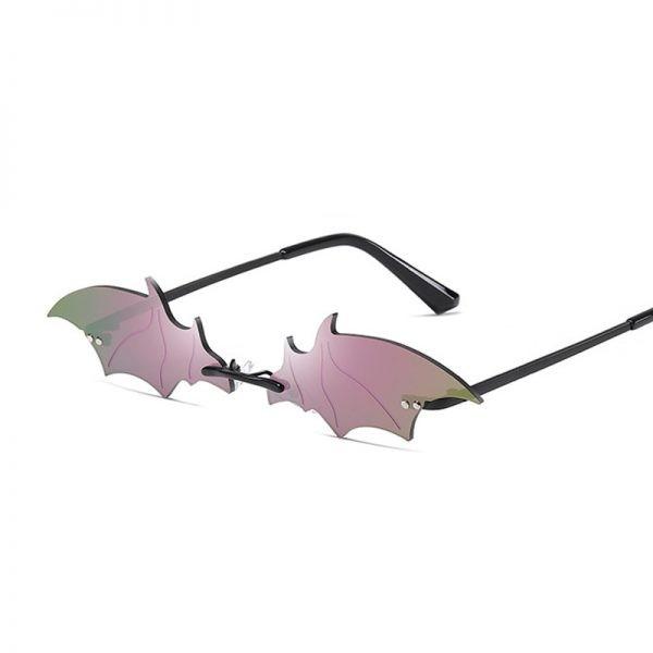 Rimless Bat Shaped Sunglasses 3