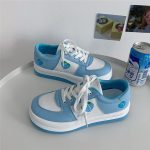 Kawaii Heart strawberry College Style Sneakers 4