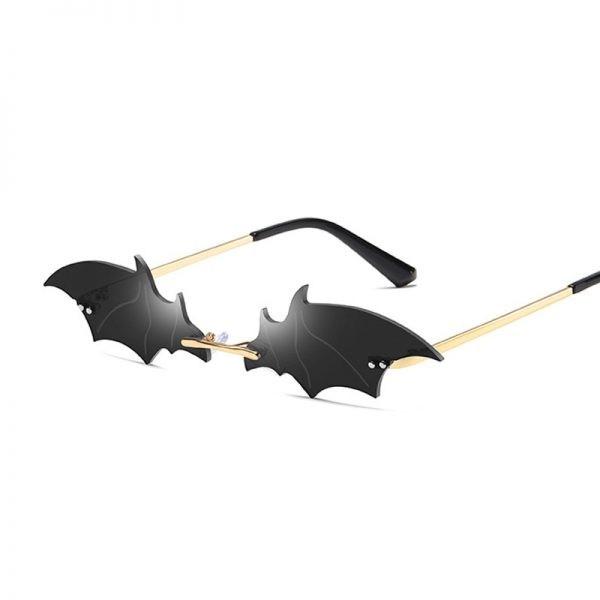 Rimless Bat Shaped Sunglasses 4