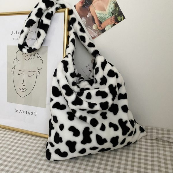 Cow Pattern Tote Handbag 4