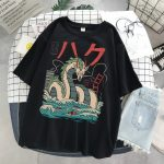 Harajuku T-Shirts with anime prints My Neighbor Totoro and Spirited away  5