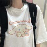 Harajuku T-shirt with Cinnamoroll Print 5