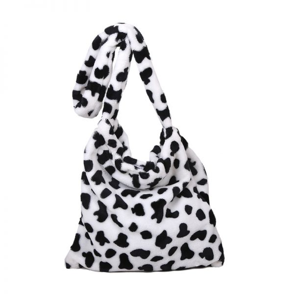 Cow Pattern Tote Handbag 6