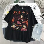 Harajuku T-Shirts with anime prints My Neighbor Totoro and Spirited away  4
