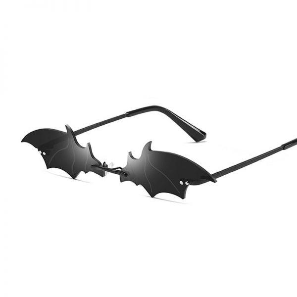 Rimless Bat Shaped Sunglasses 2