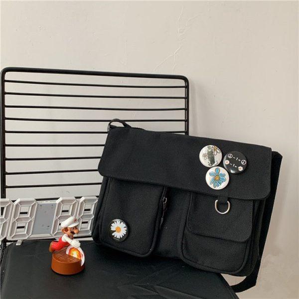Canvas Cross body Shoulder Bag  6