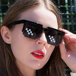 Egirl Eboy Harajuku Pixelated Sunglasses Thug Life 6