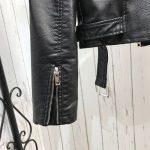 Punk Gothic Egirl Faux Soft Leather Jacket 6