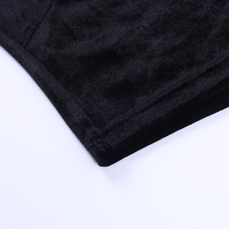 Egirl Gothic Velvet Lace Top 54