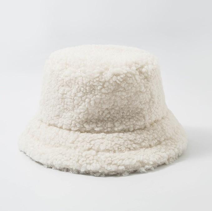Harajuku Faux Fur Winter Bucket Hat 56