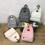 Egirl Soft girl Harajuku College School Bag 4