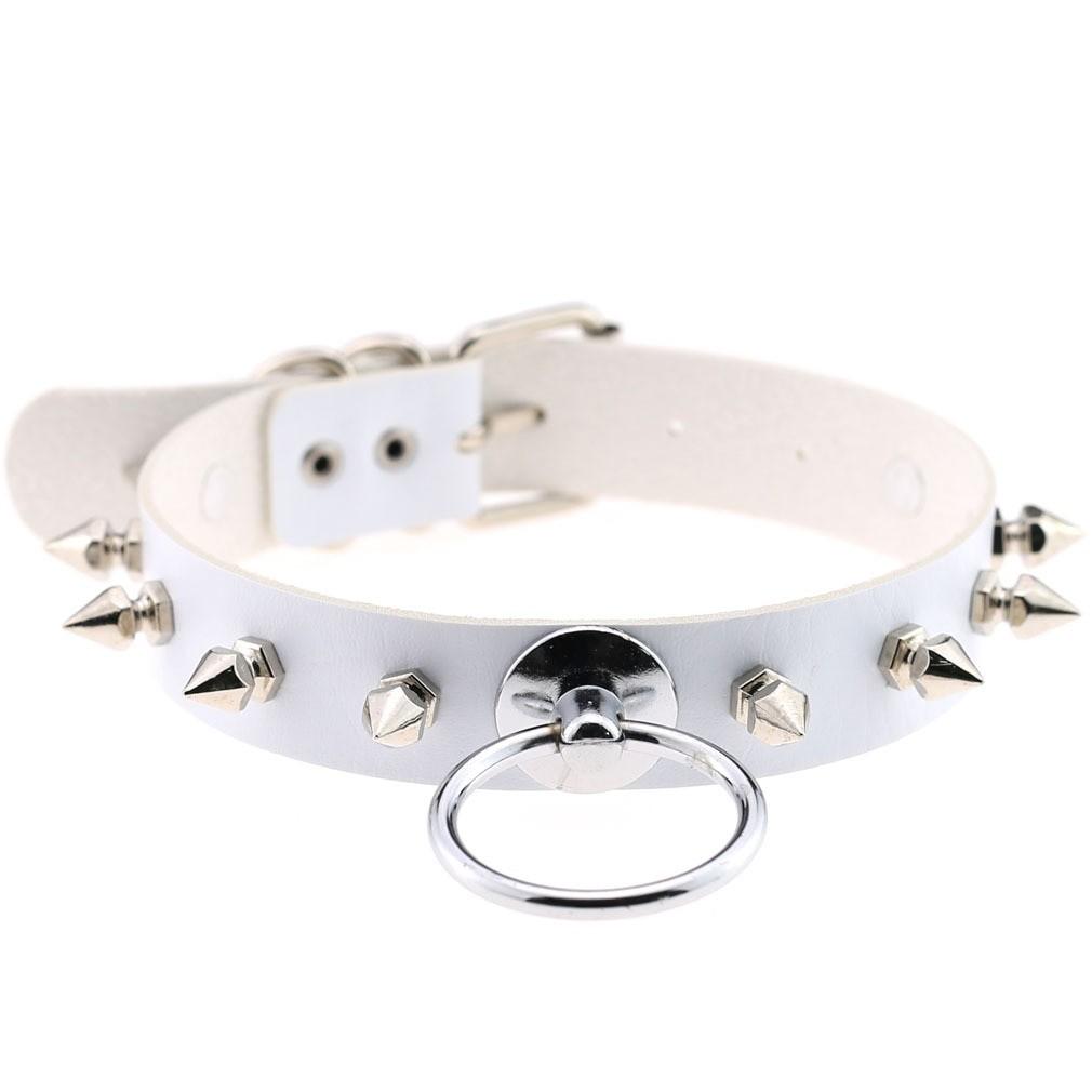 Egirl Eboy Gothic Punk Chokers (white) 50