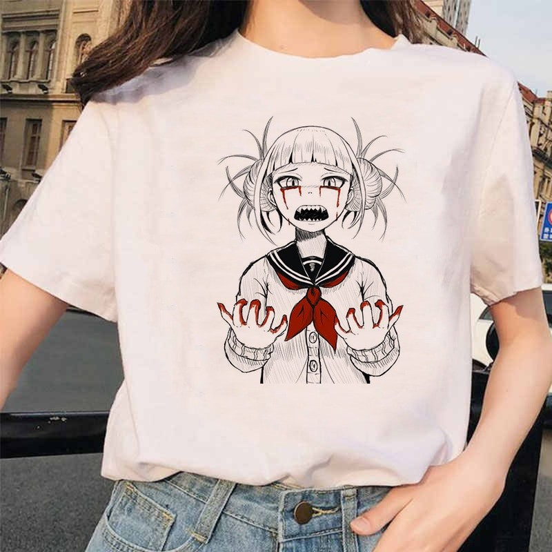 Harajuku T-Shirt with Japanese Anime Boku No Hero Academia My hero Academia 21