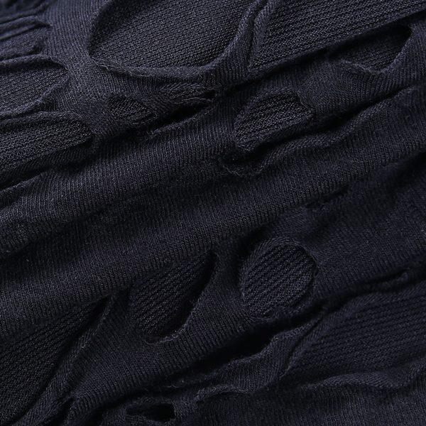 Egirl Gothiс Punk Mini Dress with holes 5