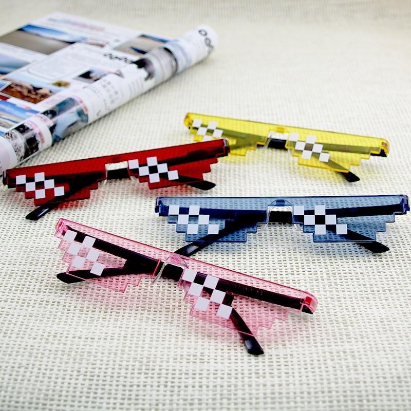 Egirl Eboy Harajuku Pixelated Sunglasses Thug Life 60