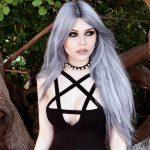 Egirl Gothic Pentagram Strap Dress 1