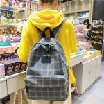 Egirl Soft girl Harajuku College School Bag 3