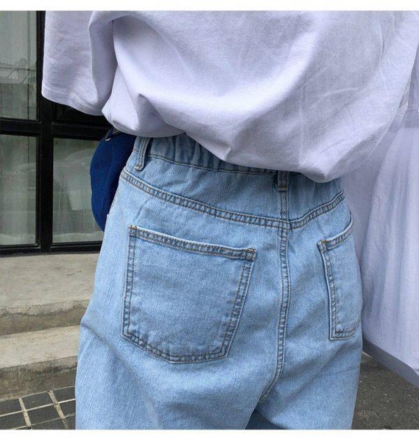 Egirl Y2K High Waist Wide Leg Jeans 15