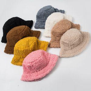 Harajuku Faux Fur Winter Bucket Hat 1