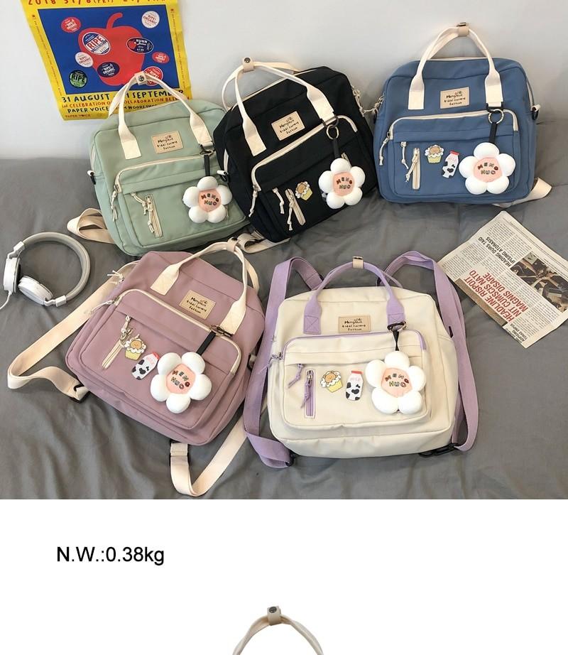 Egirl Soft girl Lovely Multifunctional Backpacks 41