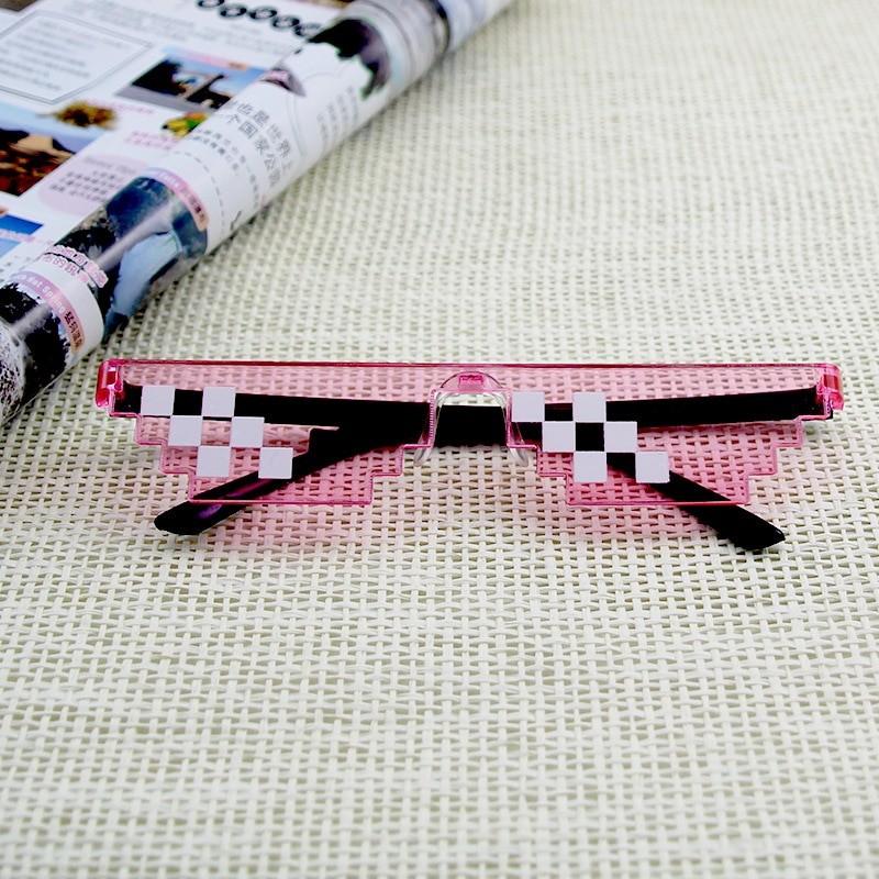 Egirl Eboy Harajuku Pixelated Sunglasses Thug Life 62