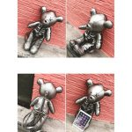 Egirl Eboy Gothic Skeleton Bear Backpack  4