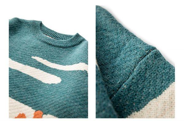 Eboy Egirl Y2K Vintage Cows print Sweaters 11
