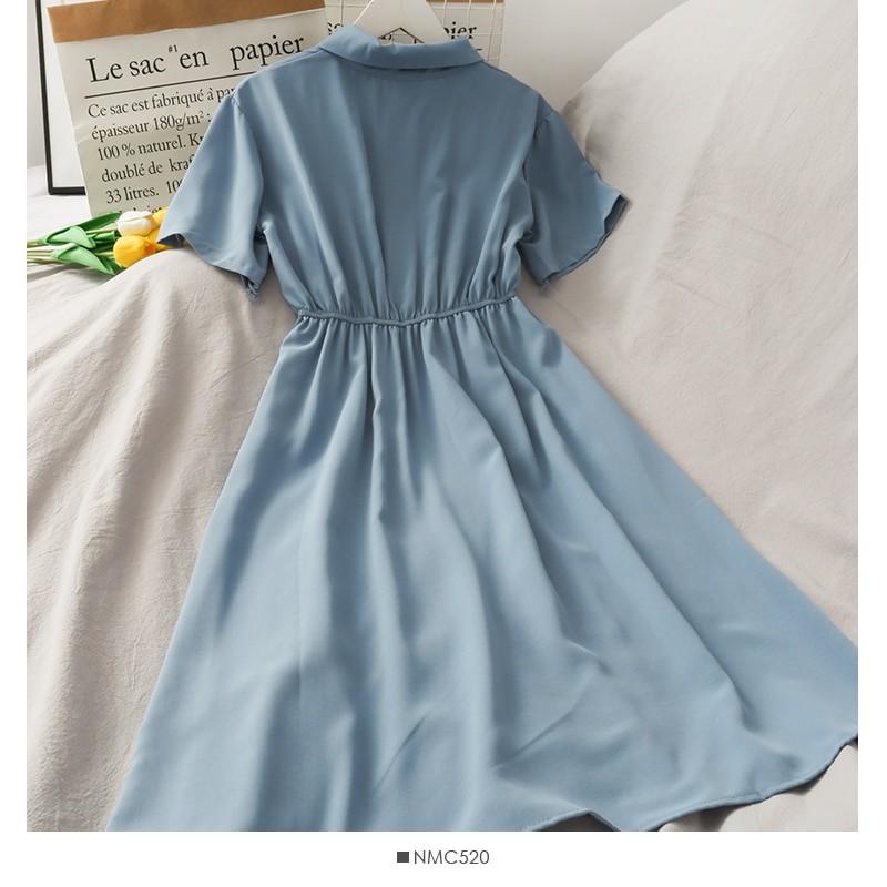 Harajuku Soft girl Chiffon  Dress with Bow 49