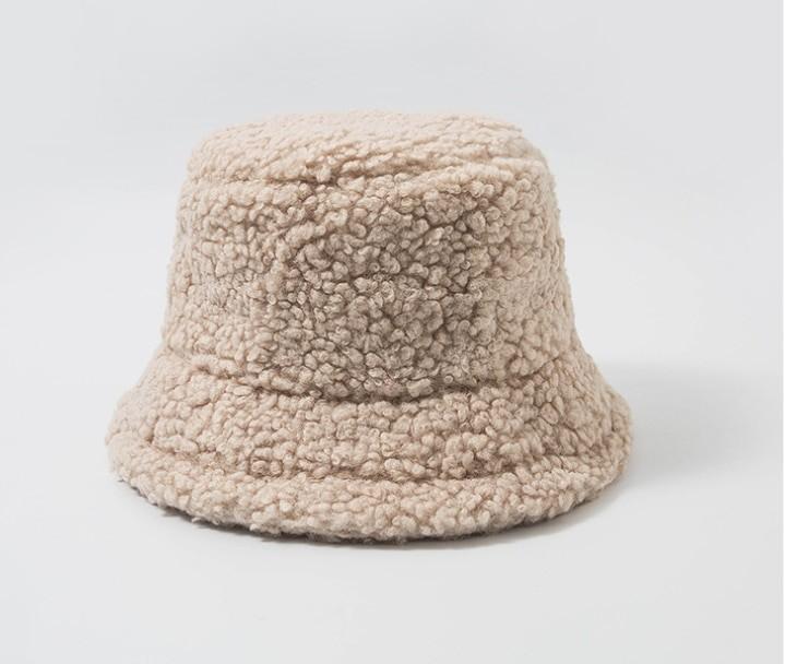 Harajuku Faux Fur Winter Bucket Hat 54