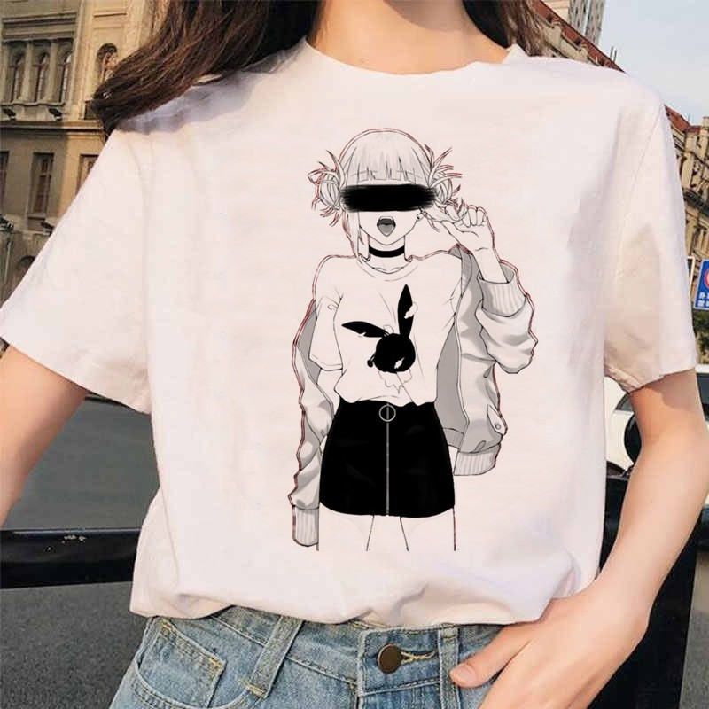 Harajuku T-Shirt with Japanese Anime Boku No Hero Academia My hero Academia 27