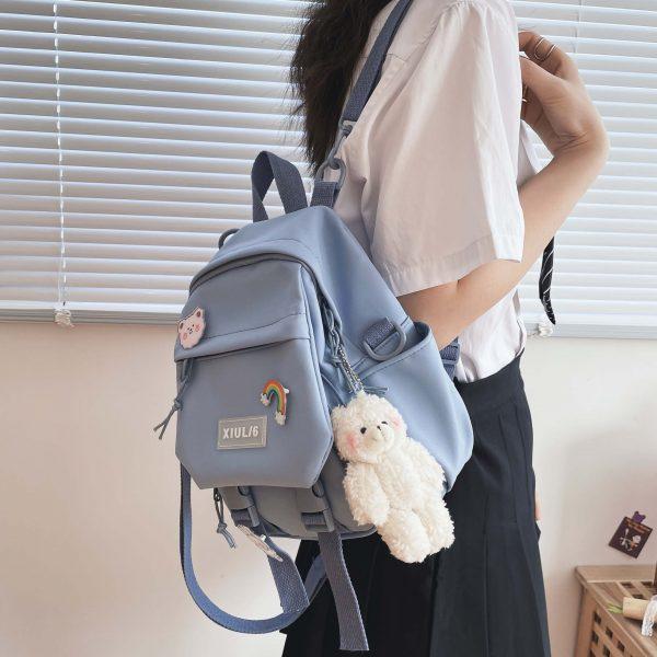 Soft girl small cute Backpack 3
