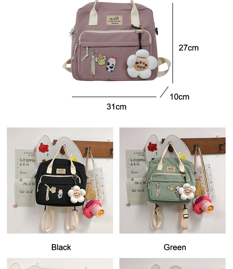 Egirl Soft girl Lovely Multifunctional Backpacks 42