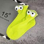 3D eyes Funny Socks Harajuku kawaii style 7