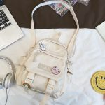 Soft girl small cute Backpack 5