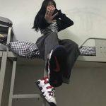 Egirl High Waist Oversized Jeans with Wide Legs 3