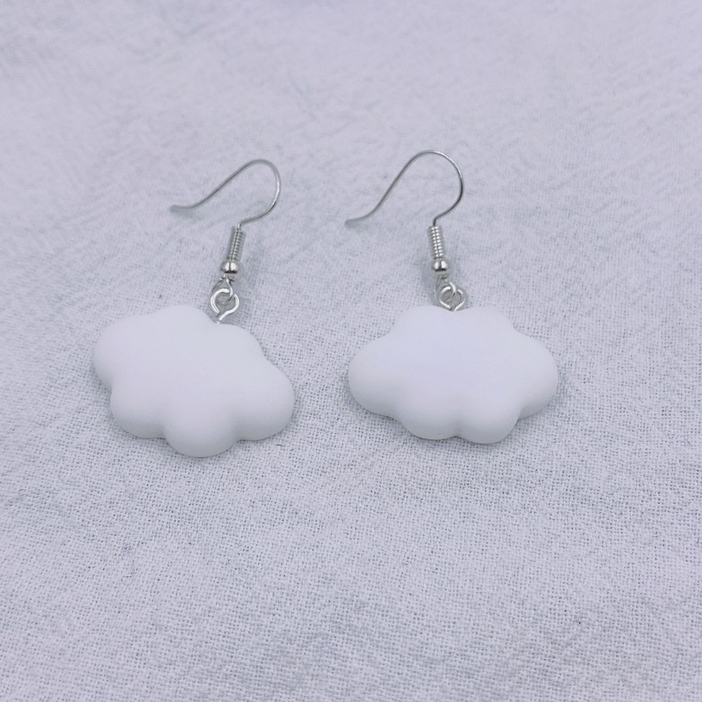 Soft girl Egirl Harajuku Cute Cloud Earrings 45