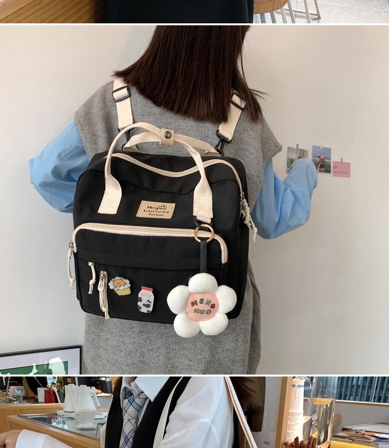 Egirl Soft girl Lovely Multifunctional Backpacks 47