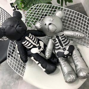 Egirl Eboy Gothic Skeleton Bear Backpack  2