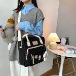 Egirl Soft girl Lovely Multifunctional Backpacks 3
