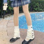 Knit Loose Leg Warmers 5