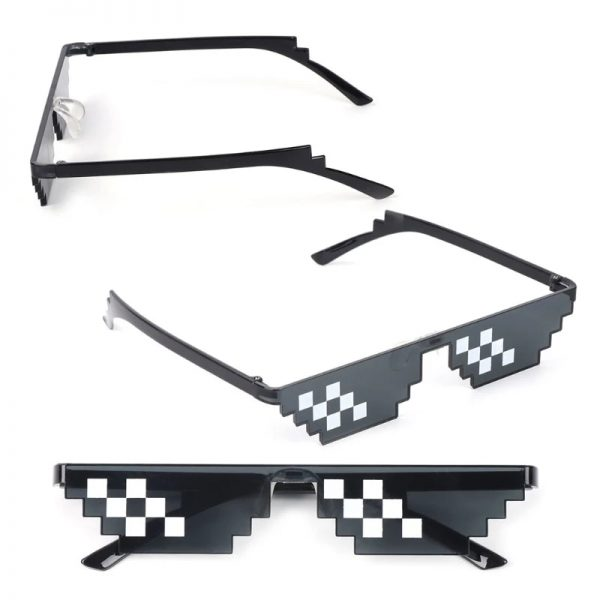 Egirl Eboy Harajuku Pixelated Sunglasses Thug Life 5
