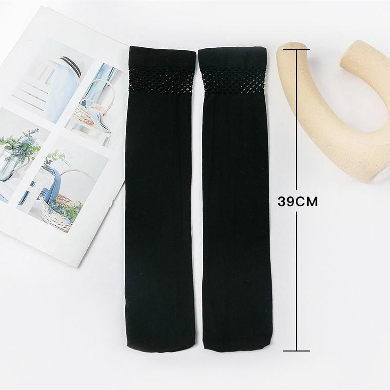 Egirl Gothic Knee High Socks with Mesh top 41