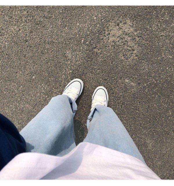 Egirl Y2K High Waist Wide Leg Jeans 11