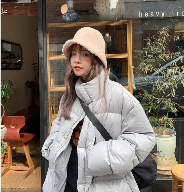 Harajuku Faux Fur Winter Bucket Hat 44